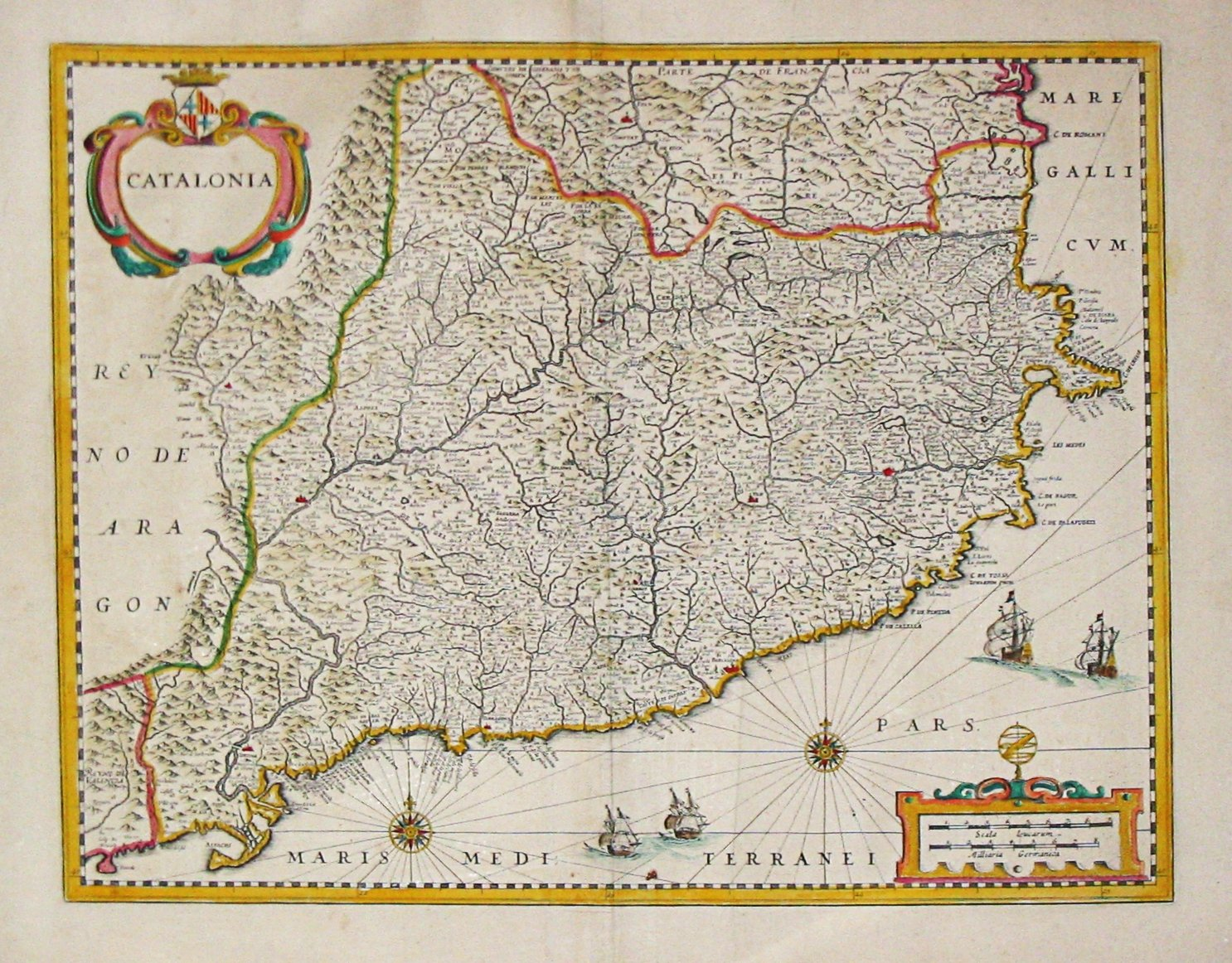 Janssonius. Catalonia
